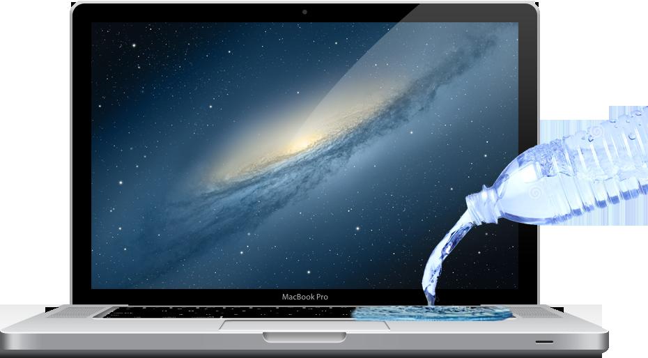Что делать если залили iPhone или MacBook