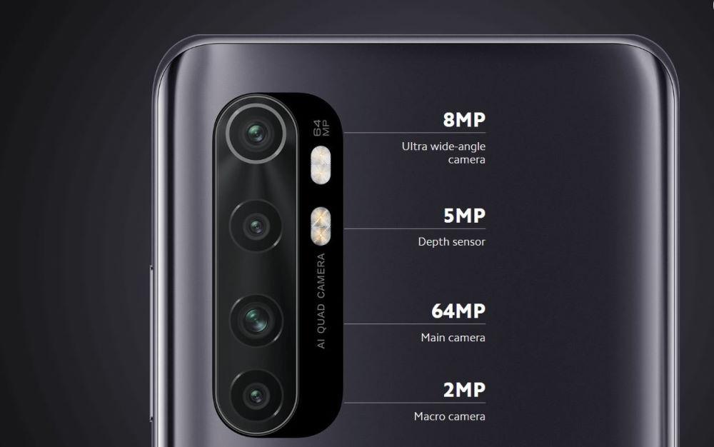 Смартфоны Mi Note 10 Lite