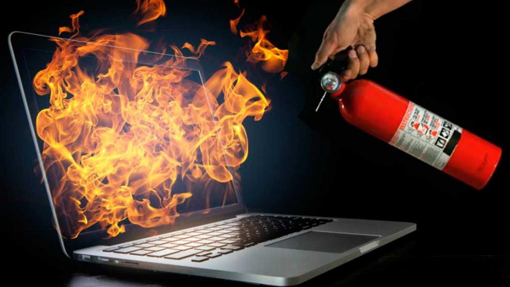 Ноутбук нагревается, что делать
